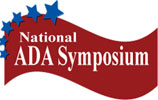 National ADA Symposium Logo