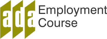 ADA Employment Course Logo