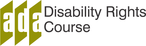 Disability Rights Web course Logo
