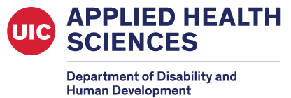 UIC Department of Disability and Human Development's Logo